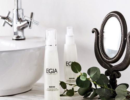 -15% скидка на уходы для лица на косметике EGIA
